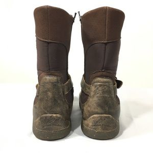 Barefoot Freedom Shoes - Brown Shearling Lined Leather Winter Boots 8.5 WW